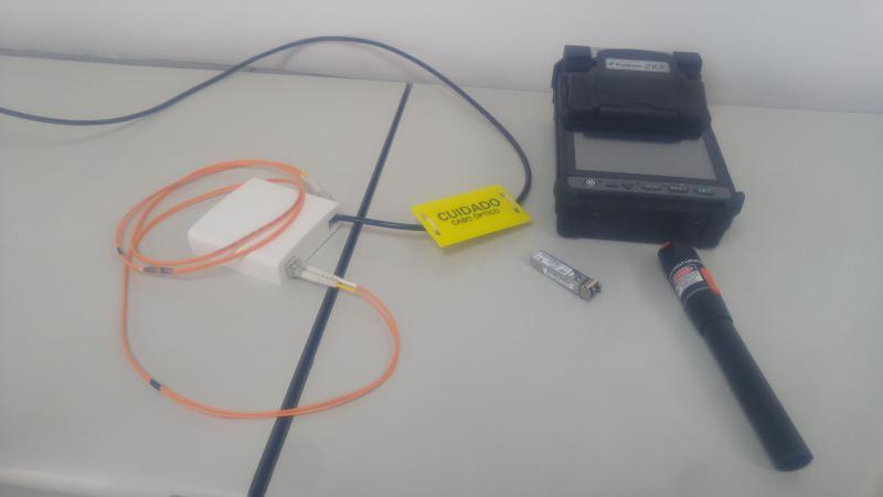 Fusão de fibra optica Barueri