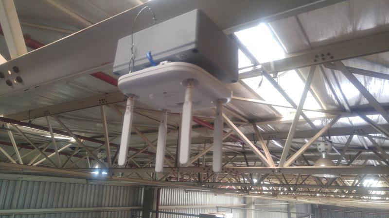 Instalação de cabeamento de rede