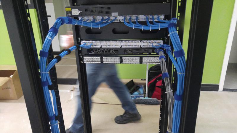 Instalação de rede estruturada