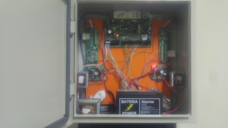 Sistema de segurança eletronica